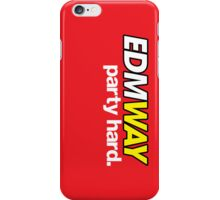 EDMWAY  iPhone Case/Skin