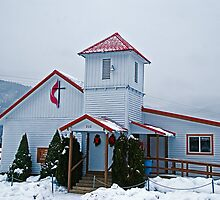 The Noxon (Montana) United Methodist Church by Bryan D. Spellman