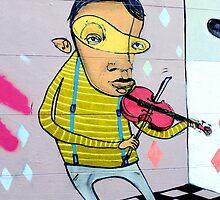 Jazz violinist by NicNik Designs