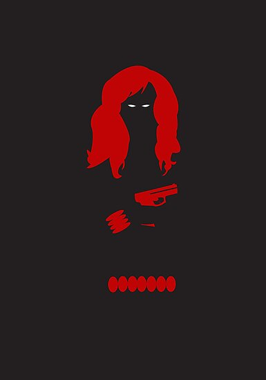 The Avengers - Black Widow by caseyjennings