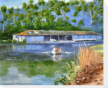 AUDLEY BOATSHED NSW by David McDougall