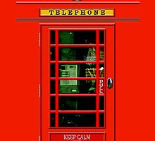 Keep Calm Phone Booth - iphone 5, iphone 4 4s, iPhone 3Gs, iPod Touch 4g case, Available for T-Shirt man, woman and kids by pointsalestore Corps