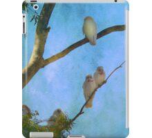 Corellas at Hepburn Srings  iPad Case/Skin