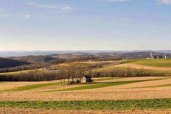 The Forgotten Farmhouse Still Stands! by Gene Walls