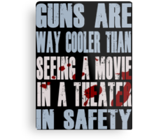 Guns Are Cool - Batman Metal Print