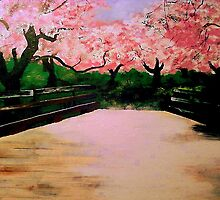 """Blossom Bridge"" by Kevin J Cooper"
