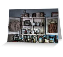 Kitchen memorabilia ~ Living Museum, Junee NSW Greeting Card