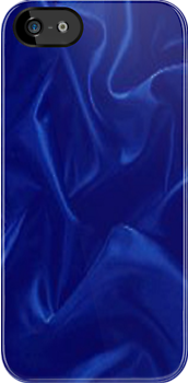 blue satin iPod/iPhone/iPad case by LokiLaufeysen