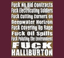 Fuck Halliburton by boobs4victory
