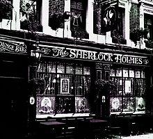 The Sherlock Holmes Pub  by DavidHornchurch