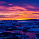 Peace River Sunrise by peaceofthenorth