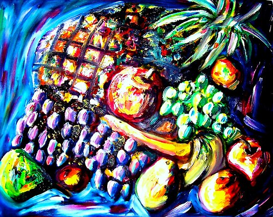 FRUIT 2 by Claudine West