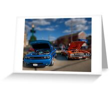 Challengers New & Old Greeting Card