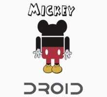 Mickey the droid by claisee