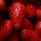 strawberries by Gaspare De Stefano