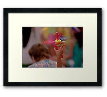 Spinning Elmo Framed Print