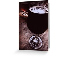 Barrel-Aged Greeting Card
