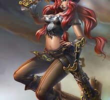 League of Legends Katarina Pirate by gleviosa