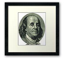 PROPERTY OF MONEY LOVER Framed Print