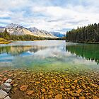 Serene Lake by George Oze