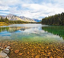 Serene Lake by George Oze