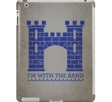 I'm With The Band iPad Case/Skin