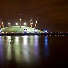 The O2 London at night by SteveHphotos