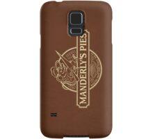 Manderly's Pies (in tan) Samsung Galaxy Case/Skin