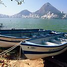Fishing Boats of Rio by George Oze