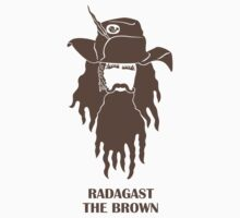 An Unexpected Sticker: Radagast the Brown by geeksweetie