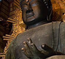 Todaiji Buddha by Sue  Cullumber