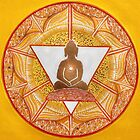 Buddha : Solar Plexus Chakra  by danita clark