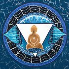 Buddha : Third Eye Chakra  by danita clark