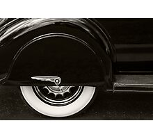Dodge Skirt Photographic Print