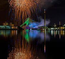Firework in Putrajaya, Malaysia by Ezry