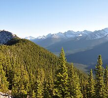 Sulphur Mountain above Banff by simu92