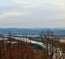 2011 Ends Over the Susquehanna River Valley by Gene Walls