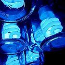 bluebottles by Bruce  Dickson