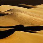 Sunrise over Mesquite Flat Sand Dunes 2 by Alex Preiss