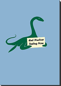 Plesiosaur - End Nuclear Testing Now by jezkemp