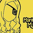 Marie Mjolnir silhouette print by sweetsheart