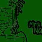 Mira Naigus silhouette print by sweetsheart