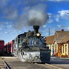 Cumbres & Toltec Scenic Railway at Chama, NM by Ken Smith