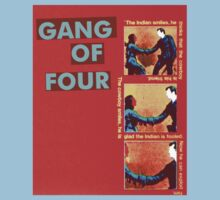 Gang Of Four t-shirt by fodderstompf