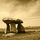Lanyon Quoit Cornwall by Lisa  Baker-Richardson