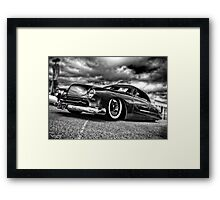 1951 Chopped & Dropped Ford Coup in HDR Framed Print