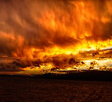 Fire in The Sky by Richard Lee