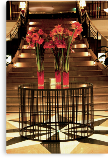 Staircase Bouquets by phil decocco