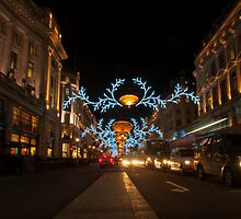 Regent Street at Christmas by seadrift