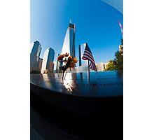 9/11 Memorial Photographic Print